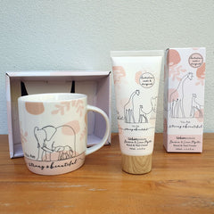 You Are Strong And Beautiful Elephant Gift Boxed Mug - The Chic Nest