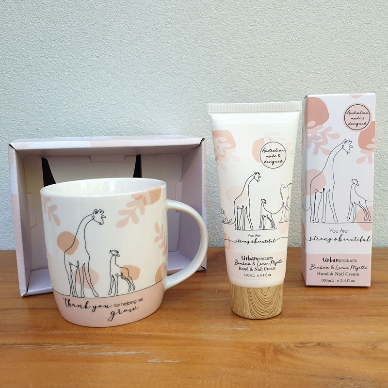 Thank You For Helping Me Grow Gift Boxed Mug - The Chic Nest