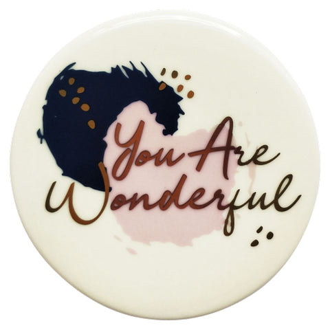 You Are Wonderful Coaster - The Chic Nest