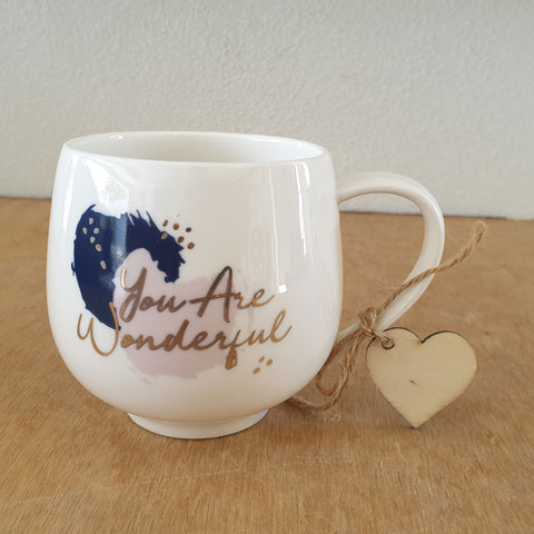 You Are Wonderful Gift Boxed Mug