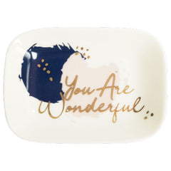 You Are Wonderful Trinket Dish - The Chic Nest