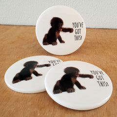 You've Got This Monkey Coaster - The Chic Nest