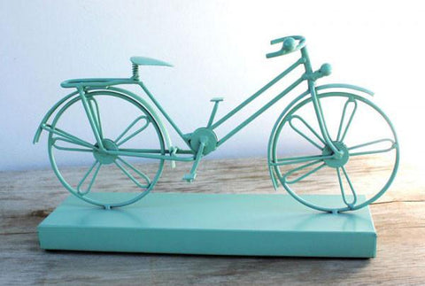 Bicycle Figurine - The Chic Nest