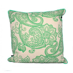 Bossa Nova Emerald Cushion - The Chic Nest