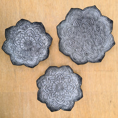 Gunmetal Table Top Tray/Wall Decor - Small
