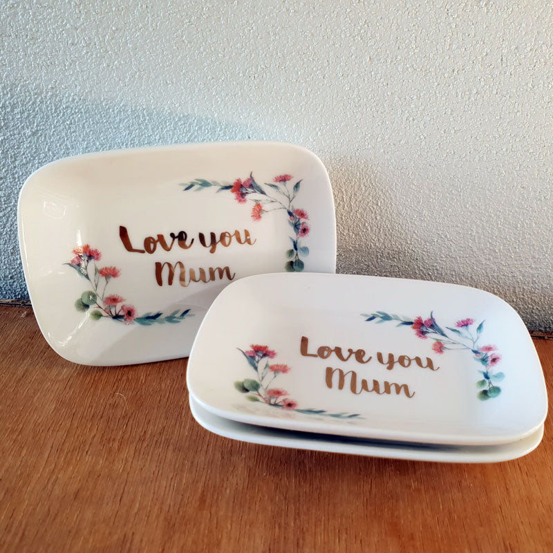Love You Mum Trinket Dish