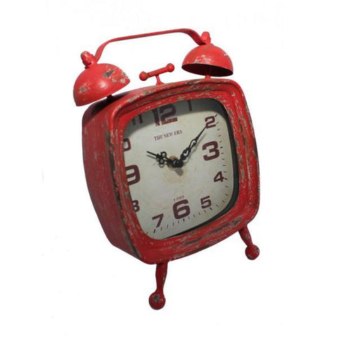 Retro Clock - Red