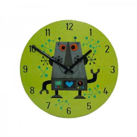 Robot Wall Clock - The Chic Nest