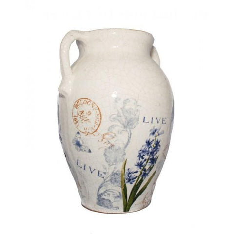 Tall Bluebell Urn - The Chic Nest