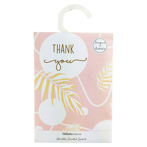 Thank You Scented Sachet - Vanilla