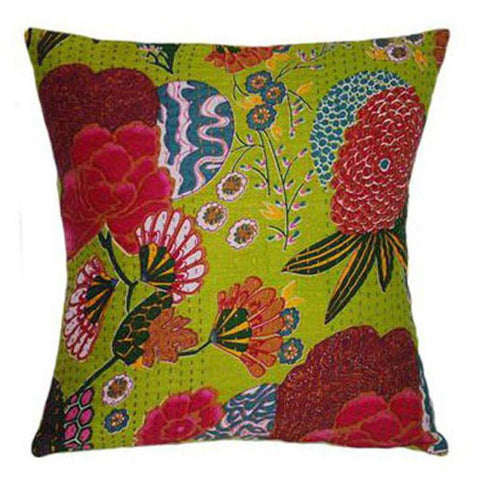 Tropical Lime Cushion - The Chic Nest