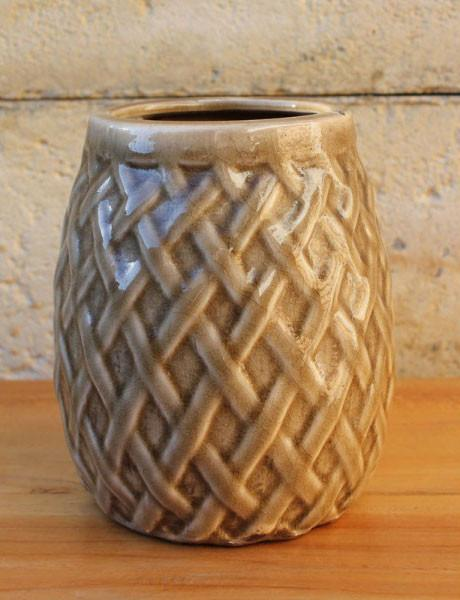 Weave Vessel - Fawn - The Chic Nest
