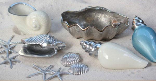 Conch Shell - Silver - The Chic Nest
