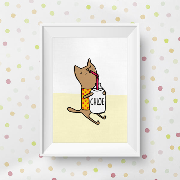 You Are Purrrfect Personalised Cat Print