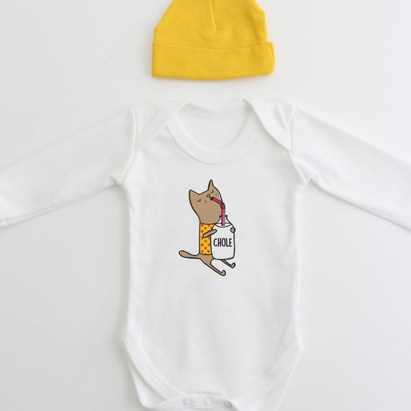 You Are Purrrfect Hat & Bodysuit Baby Gift Set