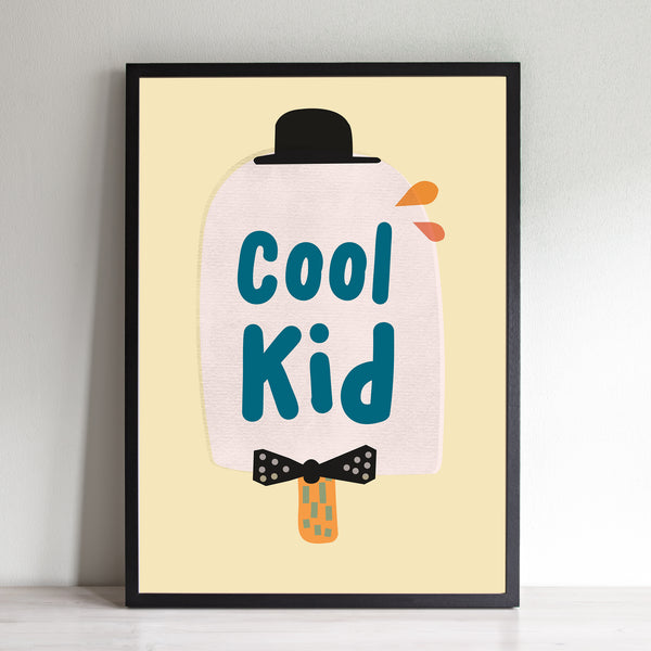 Cool Kid Ice Lolly Print