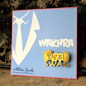 """Desi Swag"" Men's Brooch (ABR002)"