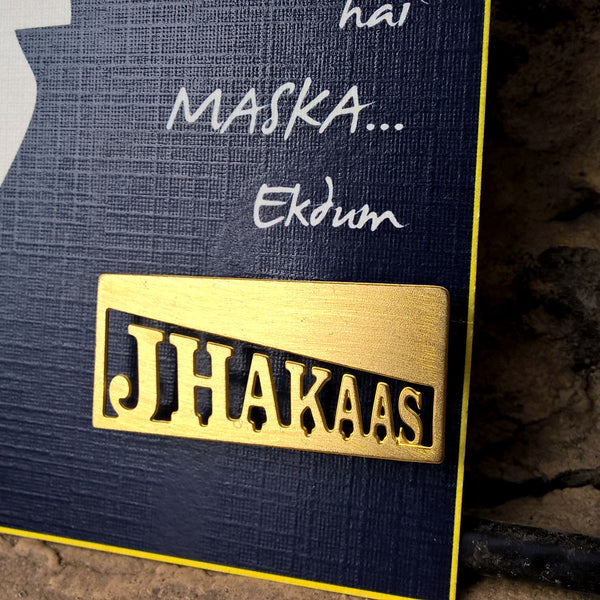 """Jhakaas"" Men's Brooch (ABR004)"