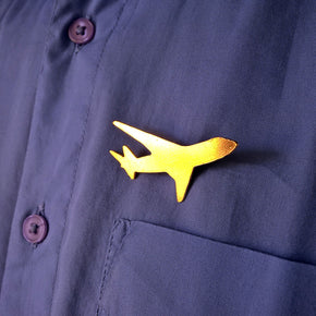 Aeroplane Men's Brooch (ABR005)