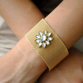 The Golden Grid Bracelet (ACB003)