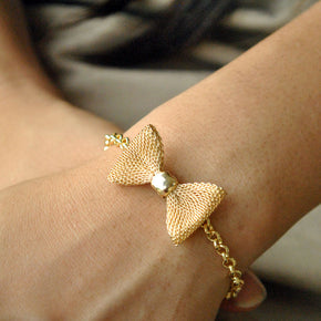 Knotty Bow Bracelet (ACB019)