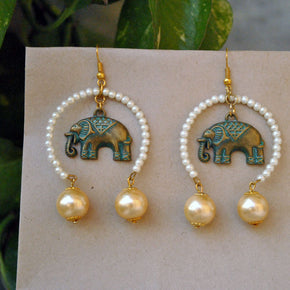Mastana Haathi Earrings (ACE012)