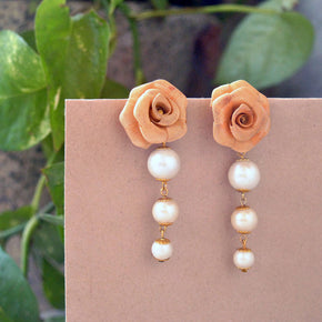 Rosy Day Earrings (ACE029)