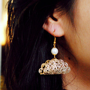 Taco Filigree Earrings (ACE033)