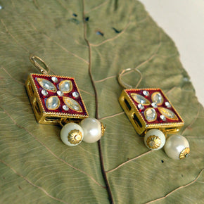 Square-it-up Earrings (ACE038)