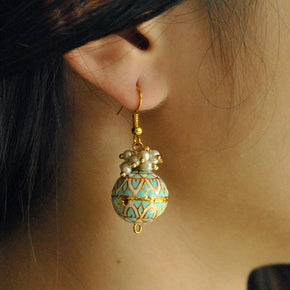 Turquoise Magic Earrings ( ACE039)