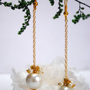 Dangling Pearl Earrings (ACE050)
