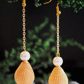 Dangling Drop Mesh Earrings (ACE053)