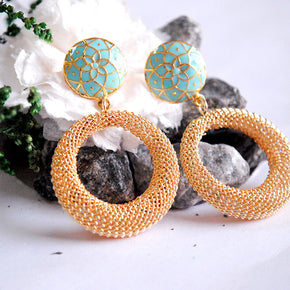 Turquoise Treasure Earrings (ACE054)