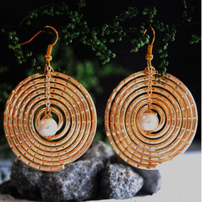 The Golden Spiral Earrings (ACE056)