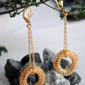 The Swinging Donuts Earrings (ACE061)