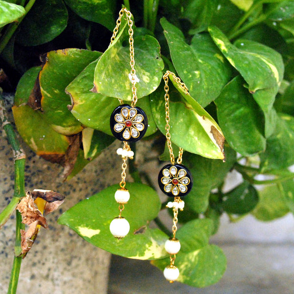 Black Beauty Kanauti Earrings(ACE066)