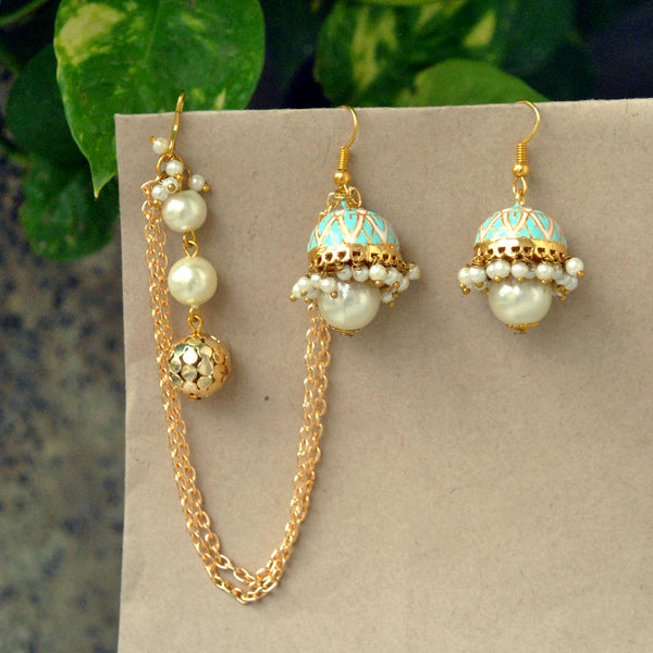 Neel Kamal Earrings(ACE067)