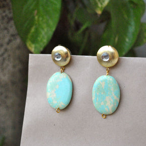 The Golden Sea Earrings (ACE071)