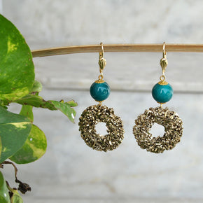 Donut Mesh Earrings (ACE084)