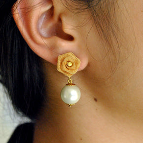 The Little Rose Earrings (ACE096)