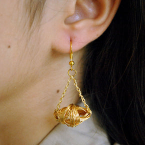 Bi-Cone Swing Earrings(ACE128)