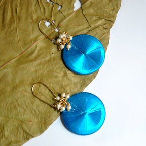 Color Cosmo Dangle Earrings (ACE136)