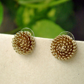 Porcupine Studs Earrings (ACE164)