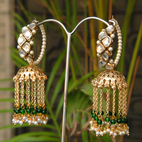 Joyful Jhoomar Hoop Earrings (ACE193)