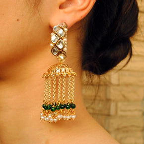 Joyful Jhoomar Hoop Earrings(ACE193)