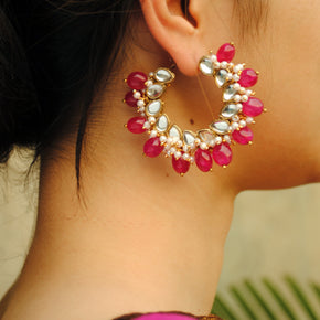 Afreen Hoop Earrings(ACE198)