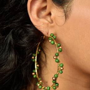Green Arch Hoops (ACE221)