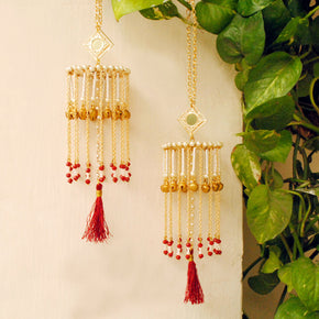 Ghunghroo And Tassel Mini Kaleera (ACKL015)