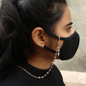 Faux Pearls Mask Chain(ACMC011)