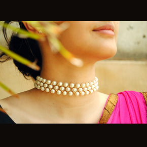 Garden Of Pearl Necklace (ACN037)